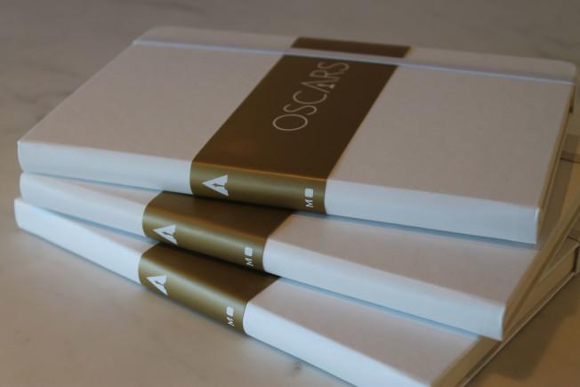 OSCAR: Tenha um caderno com conselhos de vencedores do prêmio