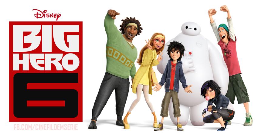 Operação Big Hero vai virar série do canal Disney XD