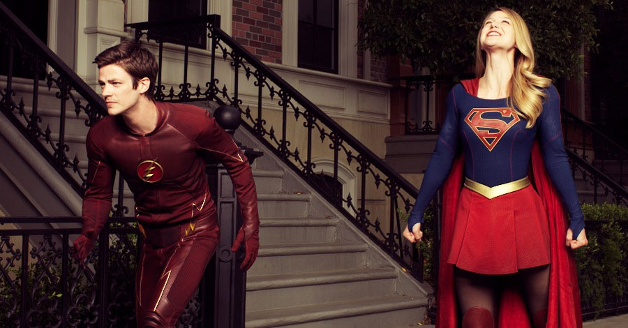 Revelados pôster e sinopse do crossover de Flash e Supergirl
