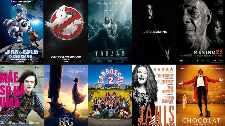 Para alegrias dos jovens, os cinemas vão entrar no clima das férias em Julho. Confira as estreias