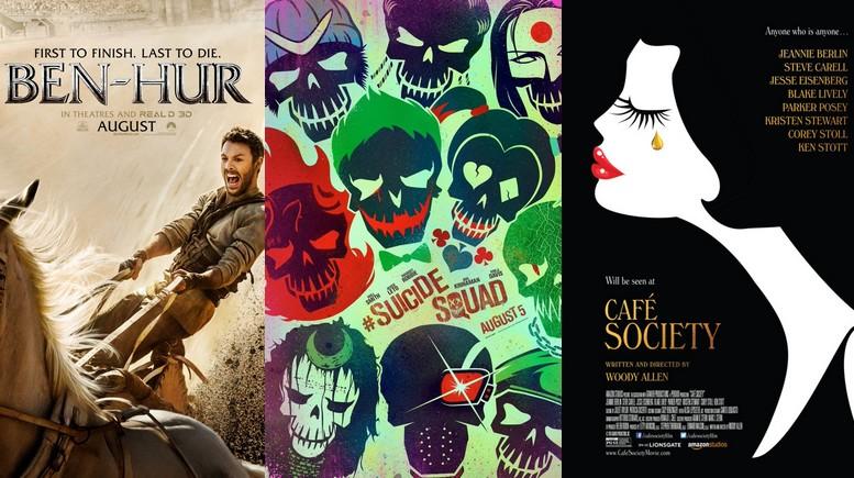 Confira os principais lançamentos cinematográficos do mês de Agosto