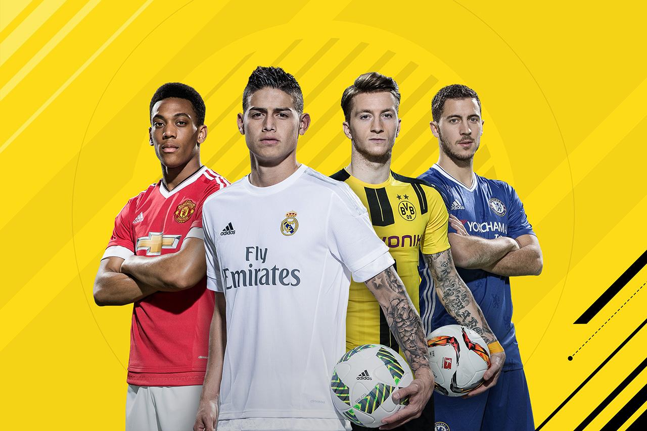 FIFA 17: Divulgada lista com alguns dos CINQUENTA melhores jogadores do game