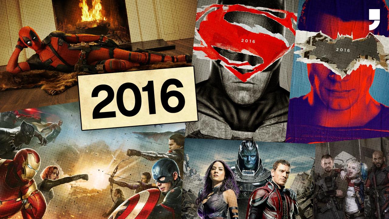Qual foi o melhor filme de super-herói do ano?