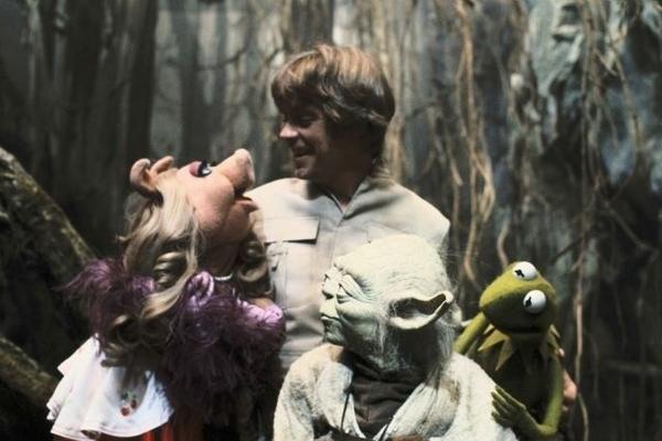 Luke Skywalker e os seus mestres jedi (ou quase isso)