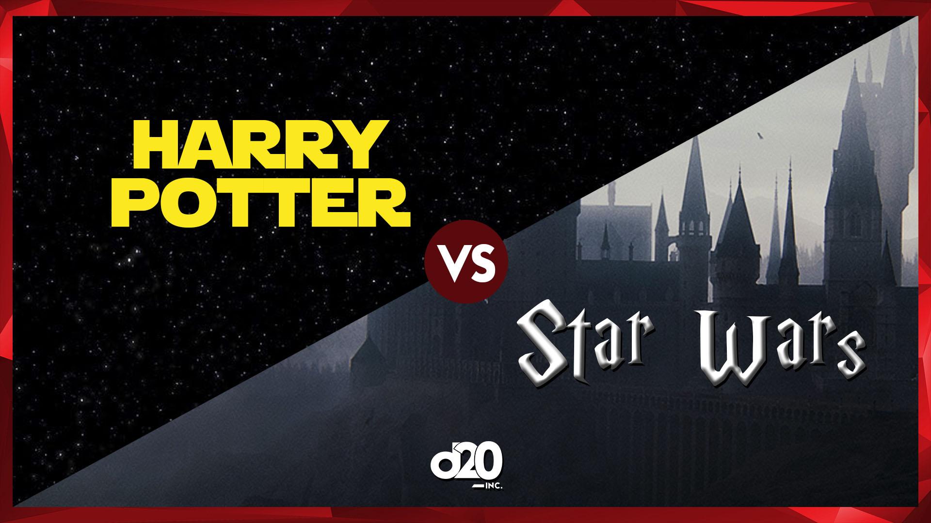 As Semelhanças entre Harry Potter e Star Wars | D20 Lab 59