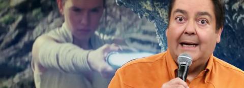 Faustão comenta trailer de Star Wars: Os Últimos Jedi | D20 Pocket 08