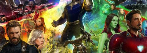Elenco de Vingadores: Guerra Infinita estampa capa de revista