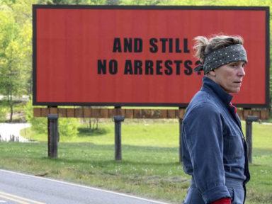 TRÊS ANÚNCIOS PARA UM CRIME: roteiro corajoso, grandes atuações e um filme espetacular