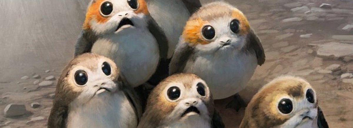 Vídeo mostra processo de criação dos Porgs de Star Wars: Os Últimos Jedi
