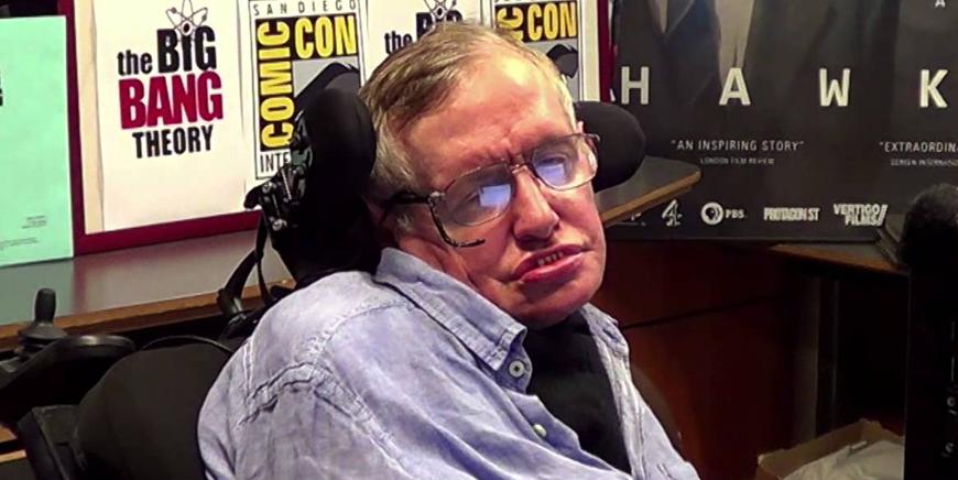 Stephen Hawking na Cultura Pop