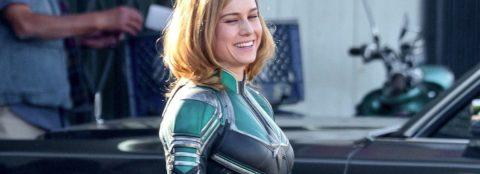 Confira novas fotos das filmagens de Capitã Marvel